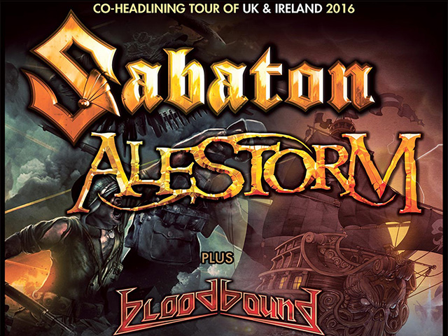Sabaton and Alestorm Rock the LCR