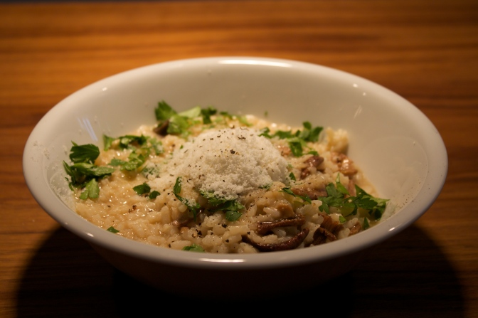 Easy Freshers' Recipes: Chicken and Mushroom Risotto
